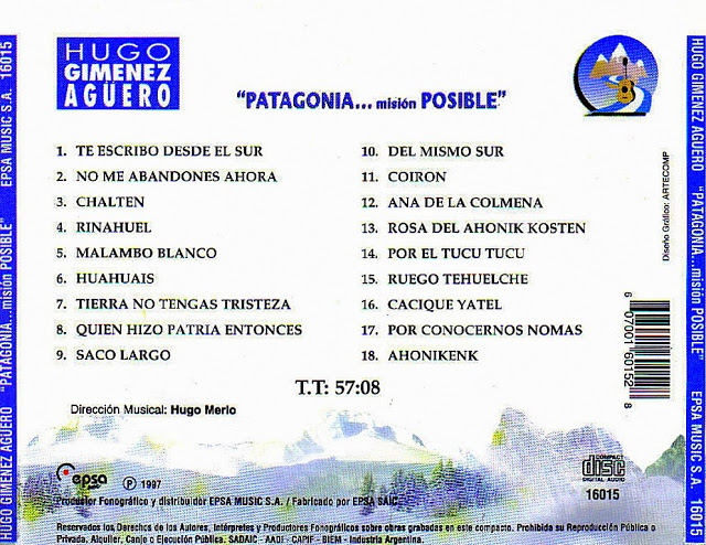 1997 - Patagonia mision posible T